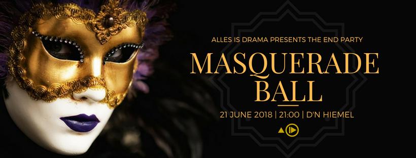 The End Party: Masquerade Ball