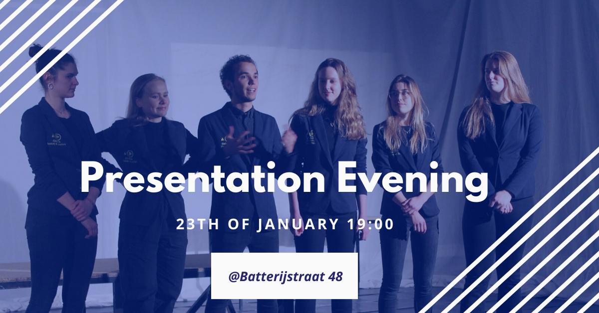 Presentation Evening & Open for registration!