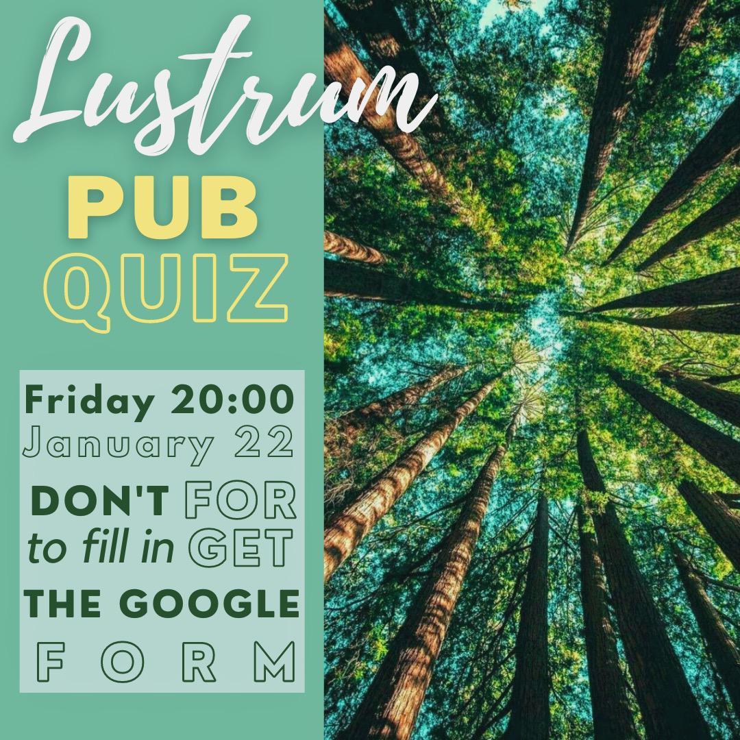 Lustrum Pub Quiz
